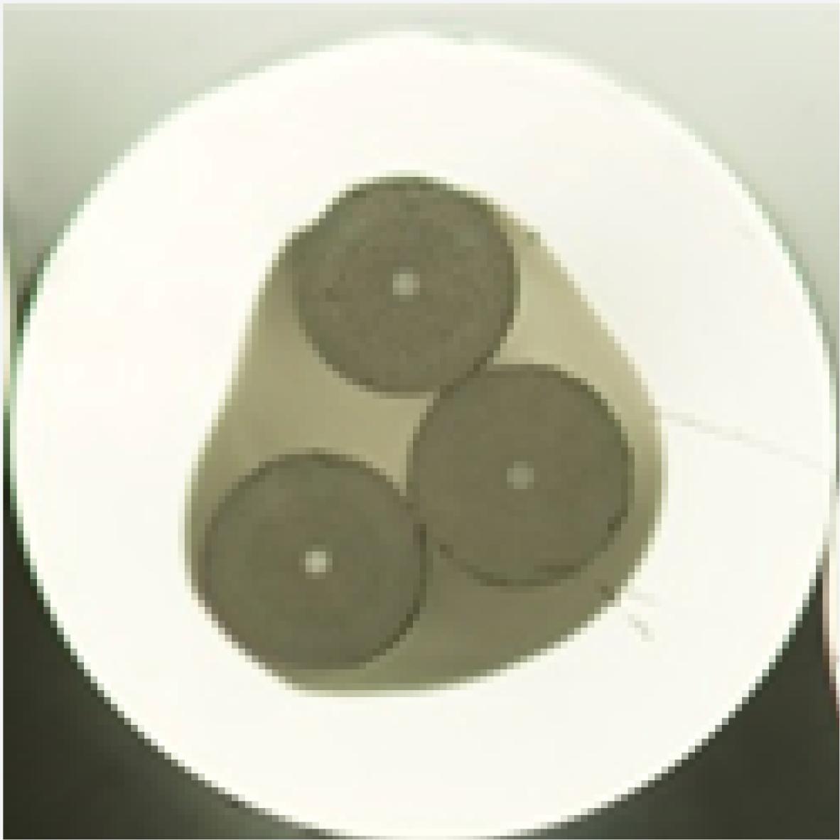 Passive 3 element optical fibre - 3 MEF compact